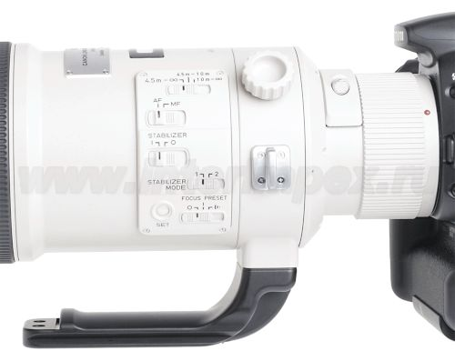 Площадка Really Right Stuff LCF-50 для объектива Canon EF 500